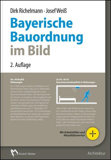 bayerische bauordnung im bild wei richelmann b cher. Black Bedroom Furniture Sets. Home Design Ideas