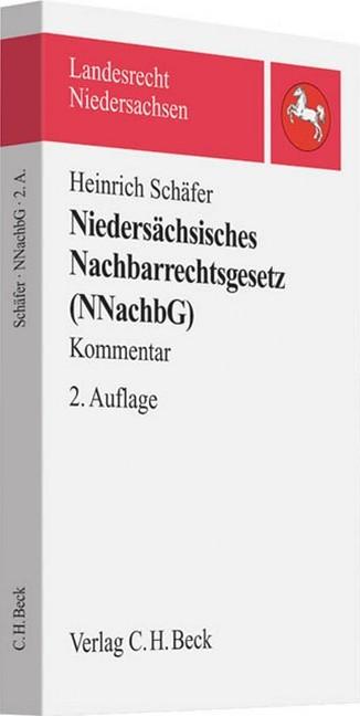 Niedersachsisches Nachbarrechtsgesetz Schafer Schafer Bucher