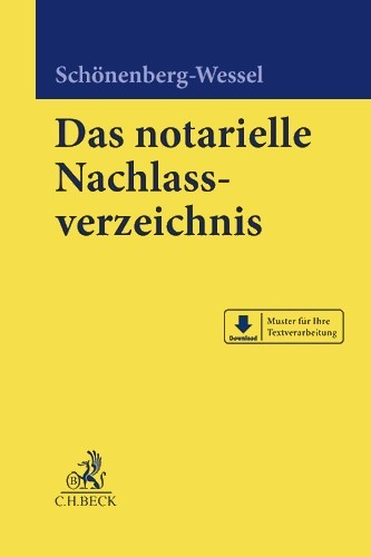 Das Notarielle Nachlassverzeichnis Schonenberg Wessel Bucher Fur Anwalte