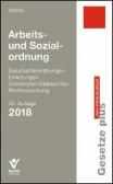 Arbeits- und Sozialordnung 2018