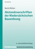 Abstandsvorschriften der niedersächsischen Bauordnung. Kommentar