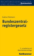 Bundeszentralregistergesetz. Kommentar