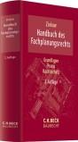 Handbuch des Fachplanungsrechts