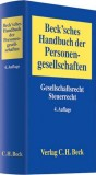 Becksches Handbuch der Personengesellschaften