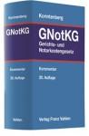 Gerichts- und Notarkostengesetz: GNotKG
