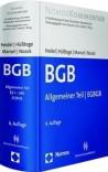 BGB-Gesamtausgabe. Band 1: Allgemeiner Teil und EGBGB