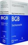 BGB-Gesamtausgabe. Band 3: Sachenrecht