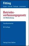 Betriebsverfassungsgesetz (BetrVG). Handkommentar