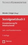 Sozialgesetzbuch II. Lehr- und Praxiskommentar