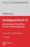 Sozialgesetzbuch IV Kommentar