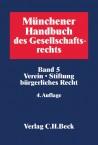 Verein, Stiftung bürgerlichen Rechts