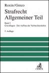 Strafrecht Allgemeiner Teil. Band I